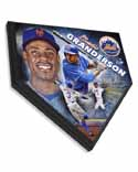 Curtis Granderson New York Mets Home Plate Plaque