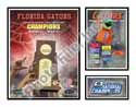 National Champs Florida Gators Milestones & Memories Collage