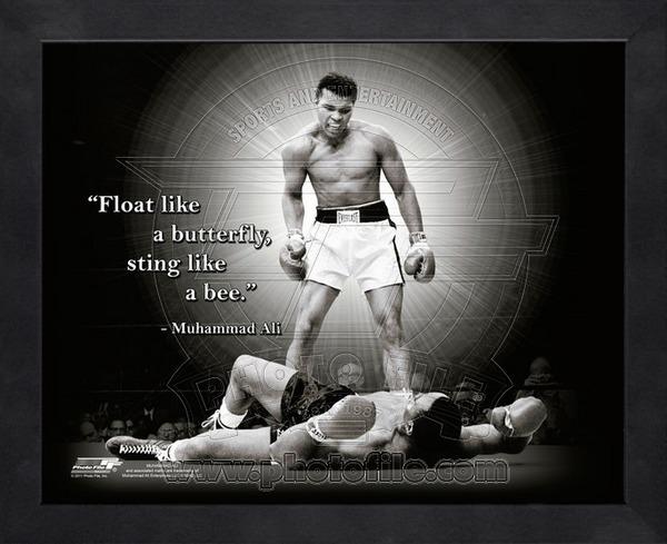 Photo File Muhammad Ali Boxing Pro Quotes