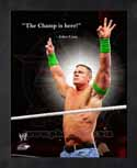 Framed John Cena WWE Pro Quotes