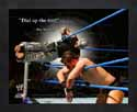Framed Rey Mysterio WWE Pro Quotes