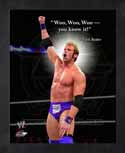 Framed Zack Ryder WWE Pro Quotes