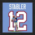 Kenny Stabler Houston Oilers Uniframe