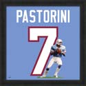 Dan Pastorini Houston Oilers Uniframe