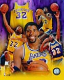 Magic Johnson Los Angeles Lakers Photo