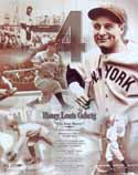 Lou Gehrig New York Yankees Photo