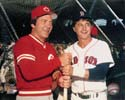 Johnny Bench & Carl Yastrzemski  Photo