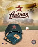 Logo/Cap Houston Astros Photo