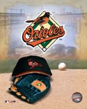 Logo/Cap Baltimore Orioles Photo