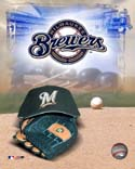 Logo/Cap Milwaukee Brewers Photo