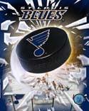 Puck/Logo St. Louis Blues Photo