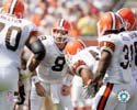 Huddle Cleveland Browns Photo