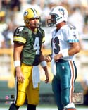 Brett Favre & Dan Marino  Photo