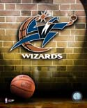 Ball & Logo Washington Wizards Photo