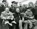 Winston Churchill, Franklin S Roosevelt & Joseph Stalin  Photo