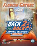 Back to Back Florida Gators Photo