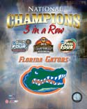 3 In A Row Florida Gators Photo