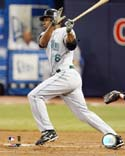 Delmon Young Tampa Bay Rays Photo