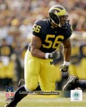 LaMarr Woodley Michigan Wolverines Photo
