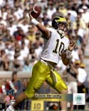 Tom Brady University of Michican Wolverines 1998 Action Michigan Wolverines Photo