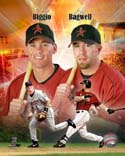 Craig Biggio & Jeff Bagwell Houston Astros Photo