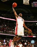 LeBron James 2009-10 Action Cleveland Cavaliers Photo