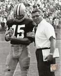 Vince Lombardi & Bart Starr Green Bay Packers Photo