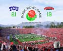 Rose Bowl TCU Horned Frogs Photo