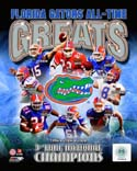 All Time Greats Florida Gators Photo