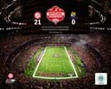 Superdome Alabama Crimson Tide Photo