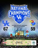 2012 National Champs Kentucky Wildcats Photo
