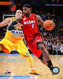 LeBron James Miami Heat Photo