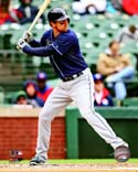 Ben Zobrist 2013 Action Tampa Bay Rays Photo