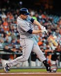 Chase Headley 2013 Action San Diego Padres Photo