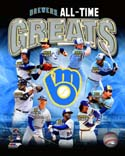 All Time Greats Milwaukee Brewers Photo