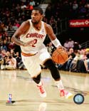 Kyrie Irving 2013-14 Action Cleveland Cavaliers Photo