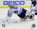 Jonathan Bernier 2013-14 Action Toronto Maple Leafs Photo