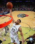 Anthony Davis 2013-14 Action New Orleans Pelicans Photo