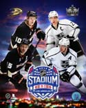 2014 Series Match Up Anaheim Ducks Los Angeles Kings Photo