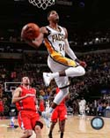 Paul George 2013-14 Action Indiana Pacers Photo