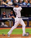 Will Myers 2014 Action Tampa Bay Rays Photo
