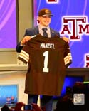 Johnny Manziel Cleveland Browns Photo