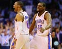 Russell Westbrook & Kevin Durant Oklahoma City Thunder Photo