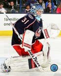 Curtis McElhinney 2013-14 Action Columbus Blue Jackets Photo