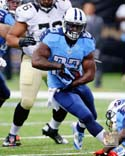 Shonn Greene 2014 Action Tennessee Titans Photo