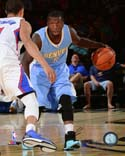 Nate Robinson 2014-15 Action Denver Nuggets Photo