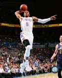 Russell Westbrook 2014-15 Action Oklahoma City Thunder Photo