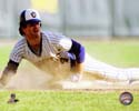 Paul Molitor 1981 Action Milwaukee Brewers Photo