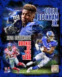 Odell Beckham Jr. 2014 NFL Offensive Rookie Of The Year Portrait Plus New York Giants Photo