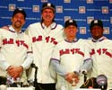 John Smoltz, Randy Johnson, Craig Biggio, & Pedro Martinez, the 2015 Baseball Hall of Fame inductees Photo